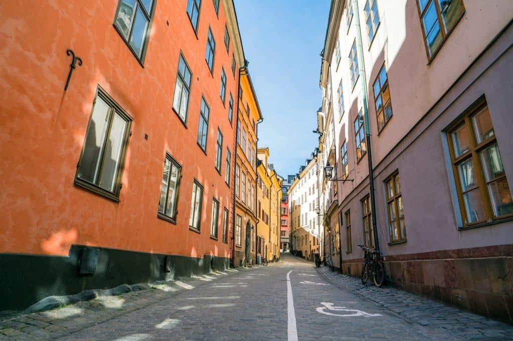 Linjemålning Stockholm